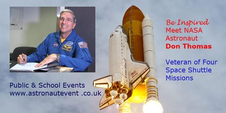 Be Inspired - Meet NASA Astronaut Don Thomas tickets