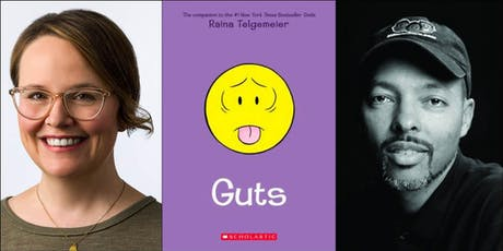 Raina Telgemeier presents Guts (with Jerry Craft) tickets