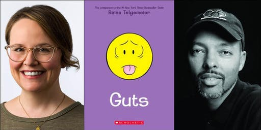 Raina Telgemeier presents Guts (with Jerry Craft)