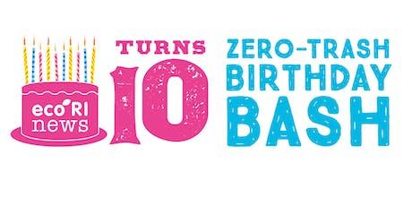 10th Zero-Trash Birthday Bash tickets