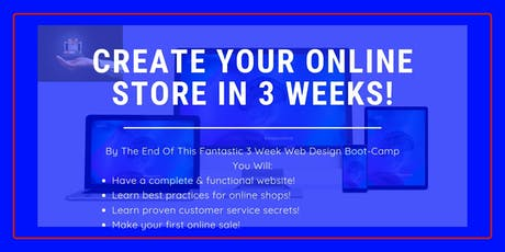 Web Design Boot Camp for Small Business  tickets