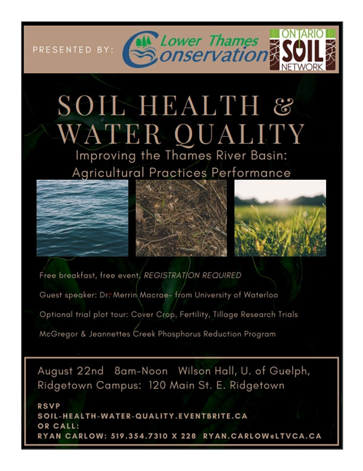 Soil Health and Water Quality in the Thames River Basin image