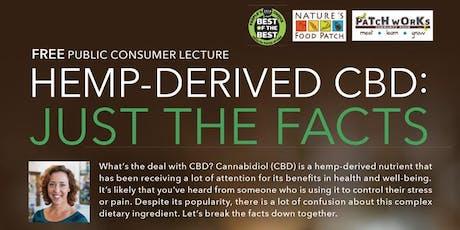 Free Health Seminar - Hemp-Derived CBD: Just the Facts tickets