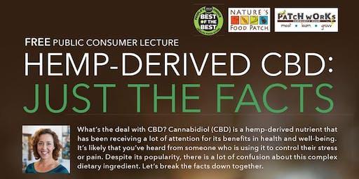 Free Health Seminar - Hemp-Derived CBD: Just the Facts
