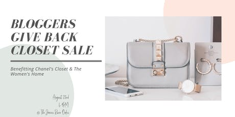 Blogger's Give Back Closet Sale tickets