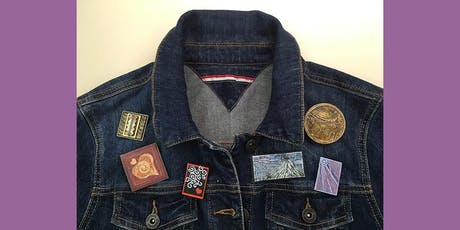 ART PINS AND BOOCHES: PAPER COLLAGE JEWELRY  tickets