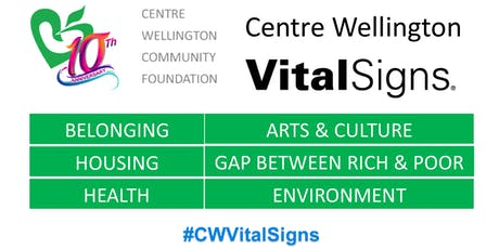 CWCF's Vital Signs 2019 Launch Event tickets
