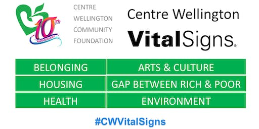 CWCF's Vital Signs 2019 Launch Event
