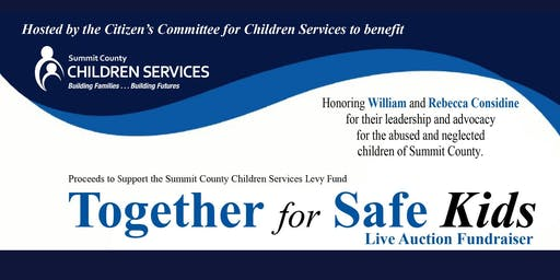 Together for Safe Kids Levy Fundraiser