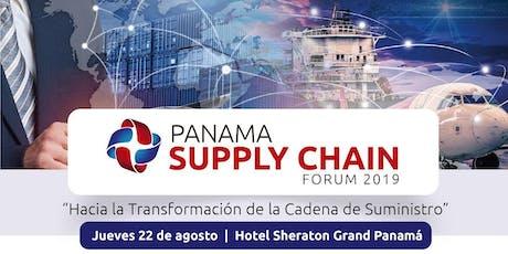 Panama Supply Chain Forum 2019 tickets