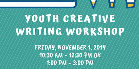 Youth Creative Writing Workshop tickets