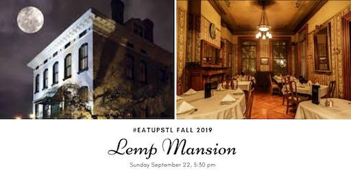 #EatUpSTL Fall 2019: Lemp Mansion