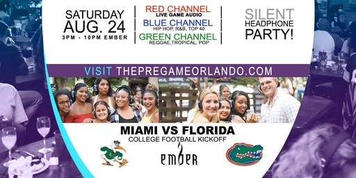 The Pregame: Silent Headphone Watch Party (Florida Vs Miami)