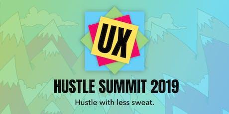 UX Hustle Summit 2019 tickets