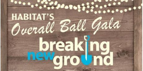 Habitat's Overall Ball Gala tickets