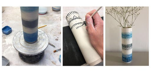 Decorate Your Own Stem Vase Workshop
