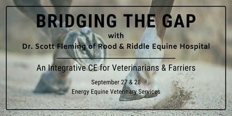 Bridging the Gap with Dr. Scott Fleming tickets