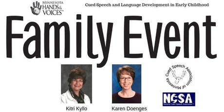 Cued Speech and Language Development in Early Childhood (3rd in a series) tickets