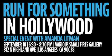 Run for Something goes to Hollywood! tickets