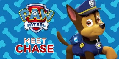 PAW Patrol Meet and Greet with Chase