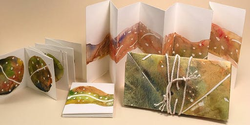 ACCORDION BOOKS WITH A CUSTOM PORTFOLIO CASE