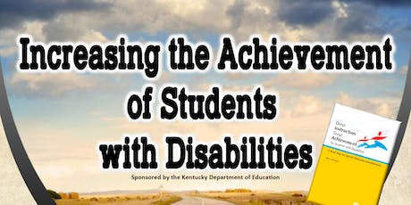 Increasing the Achievement of Students with Disabilites tickets