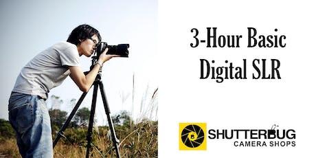 3-Hour Basic Digital SLR tickets