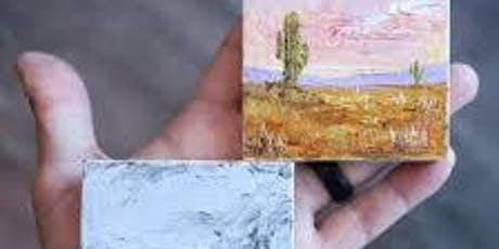 Oil Painting Studio-Tiny Paintings #1 tickets