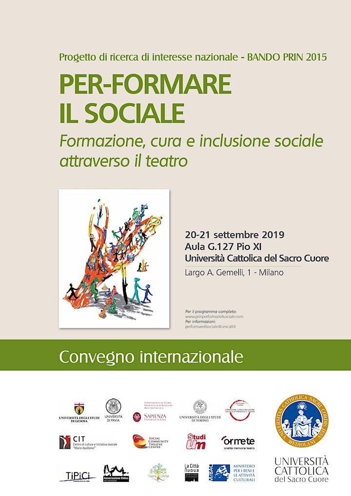 Immagine Convegno Internazionale_Per-formare il sociale (20-21.09.2019 Milano)