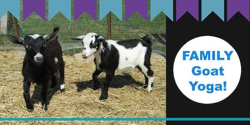 Family Goat Yoga 2019