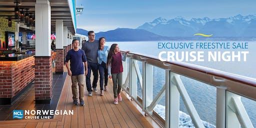 Freestyle Sale Cruise Night featuring Norwegian Cruise Line - Rockwall