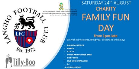 Charity Family Fun Day 24th August 2019 tickets