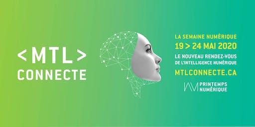MTL connecte 2020 : La Semaine numérique   Digital Week