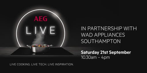 AEG Live Interactive Cooking Session