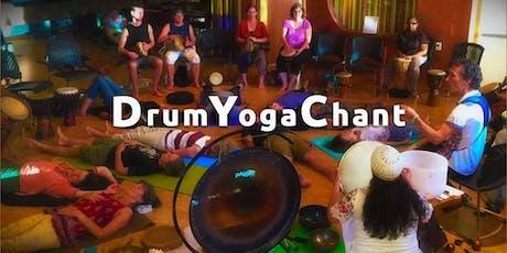 DrumYogaChant Community Circle Sept 22 tickets