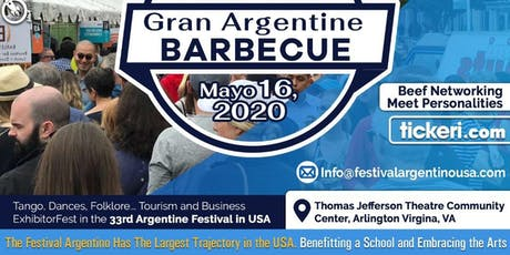 33RD GRAN ARGENTINE FESTIVAL 2020 tickets