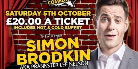 SIMON BRODKIN AKA LEE NELSON tickets