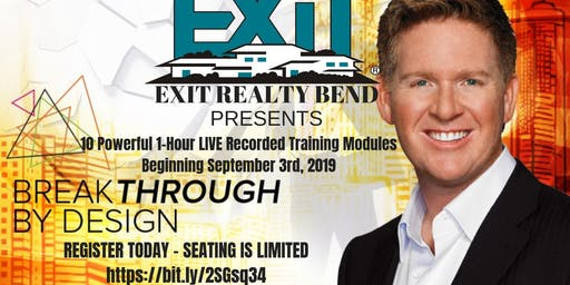 The TOM FERRY 'Breakthrough By Design' Real Estate Agent World Class Training In Bend, Oregon