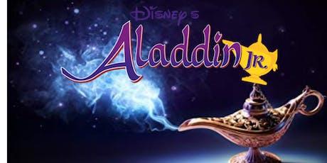 STP Jr presents Aladdin Jr Registration tickets