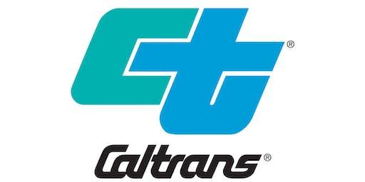 Caltrans D3 Mandatory Pre-Bid Meeting-(03-0H08U) US HWY 50 HOV Lane