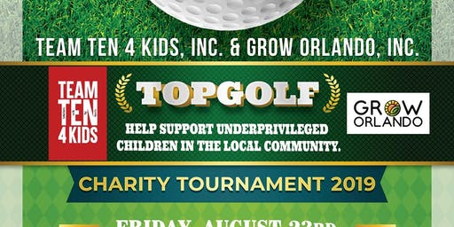 TT4K & Grow Orlando TopGolf Charity Tournament