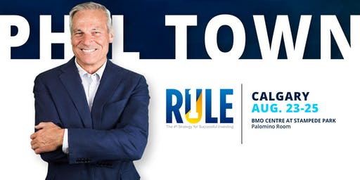 Phil Town Calgary August 23-25, 2019