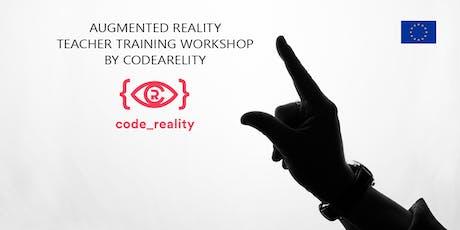 Augmented Reality Teacher Training Workshop tickets