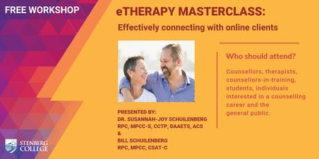 eTherapy Masterclass: Effectively connecting with online clients: A free workshop (August 24) tickets
