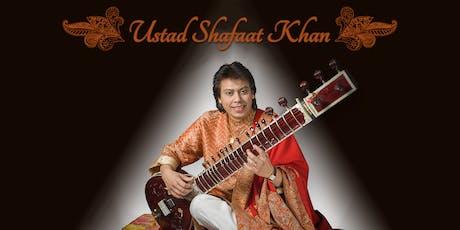 An Evening with Ustad Shafaat Khan tickets