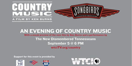 An Evening of Country Music at Songbirds  tickets