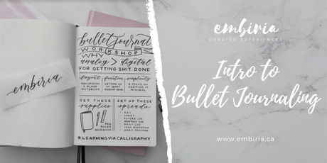 Embiria presents Intro to Bullet Journaling tickets