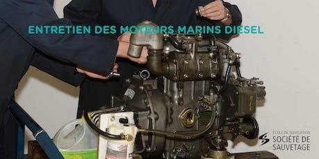 Entretien des moteurs marins diesel (20-15) tickets