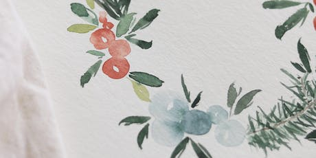 Christmas Watercolor Illustration Workshop Tickets