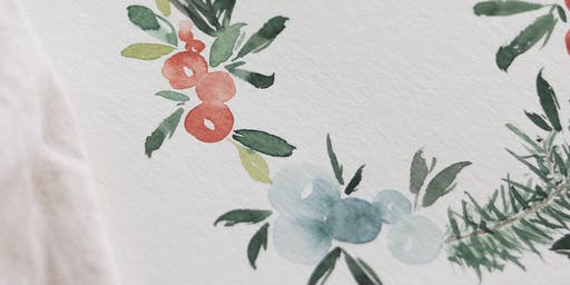 Christmas Watercolor Illustration Workshop